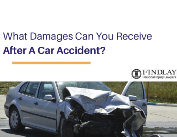 What kind of damages can you receive if you've been injured in a car accident