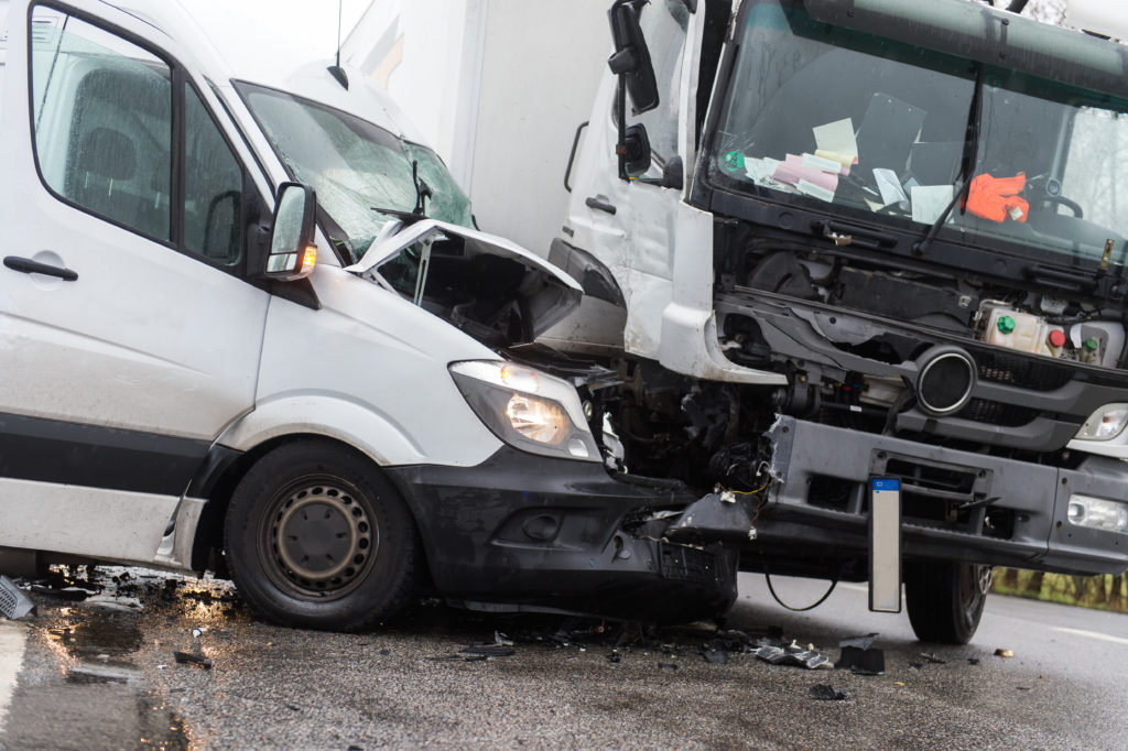 Vehicles in Work-Related Car Accident